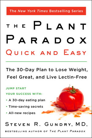 Cover art for The Plant Paradox Quick and Easy