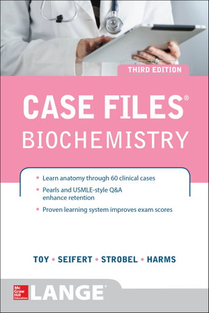 Cover art for Case Files Biochemistry 3E