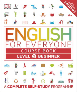 Cover art for English for Everyone Course Book Level 1 Beginner