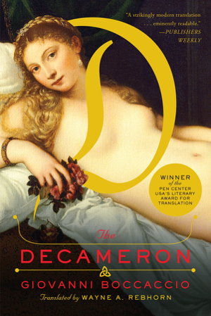 Cover art for The Decameron