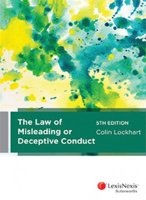 Cover art for The Law of Misleading or Deceptive Conduct