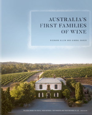 Cover art for Australia's First Families of Wine