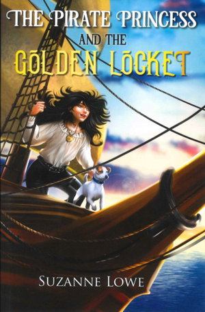 Cover art for The Pirate Princess and the Golden Locket