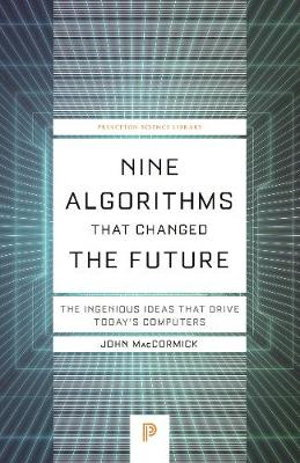 Cover art for Nine Algorithms That Changed the Future