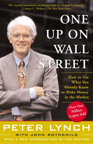 Cover art for One Up On Wall Street