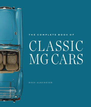 Cover art for The Complete Book of Classic MG Cars