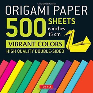 Cover art for Origami Paper 500 Sheets
