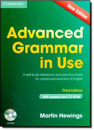 Cover art for Advanced Grammar in Use Book with Answers and CD-ROM