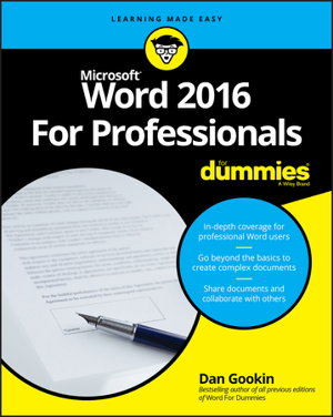 books in microsoft office word 2016 boffins books