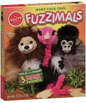 Cover art for Klutz: Make Your Own Fuzzimals