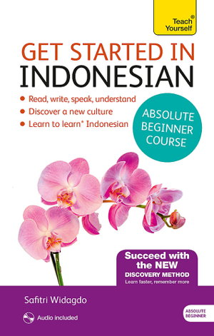 Cover art for Get Started in Beginner's Indonesian (Learn Indonesian with Teach Yourself)