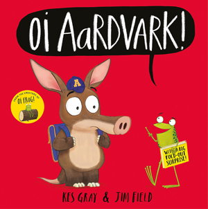 Cover art for Oi Aardvark!