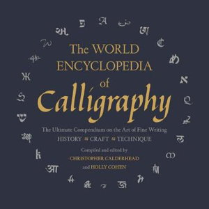 Cover art for The World Encyclopedia of Calligraphy