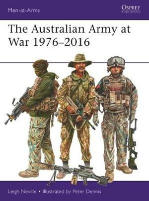 Cover art for The Australian Army at War 1976-2016