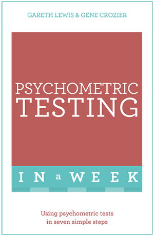 Cover art for Psychometric Testing In A Week