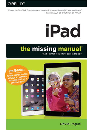 Iphoto: the missing manual: 2014 release date