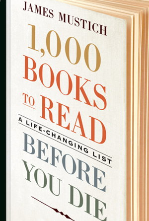 Cover art for 1,000 Books to Read Before You Die
