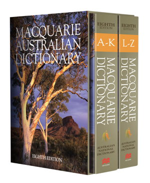 Cover art for Macquarie Dictionary Eighth Edition