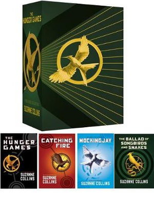 Cover art for The Hunger Games 4 Book Boxed Set