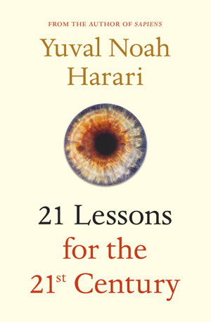Cover art for 21 Lessons for the 21st Century