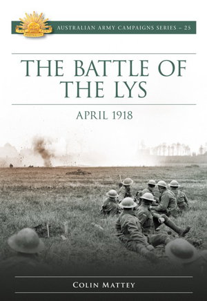 Cover art for Battle of Lys: April 1918