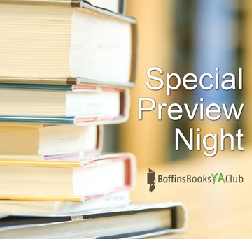 Event image for Boffins Books YA Club Preview Night
